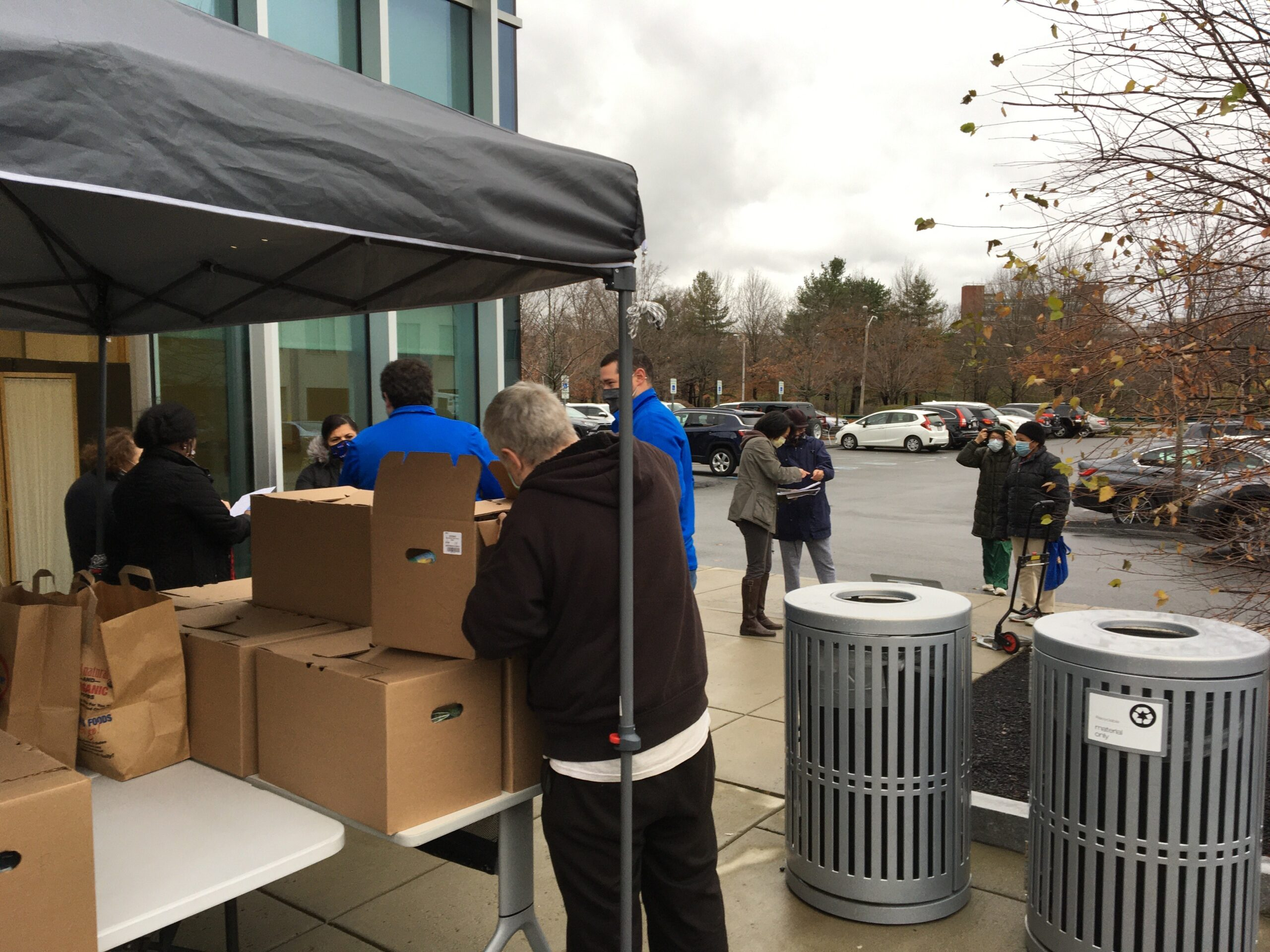 Newburg CPA charitable outreach with Charles River Community Health